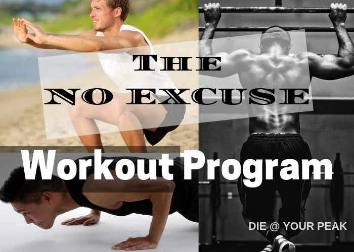 The No Excuse Workout Program
