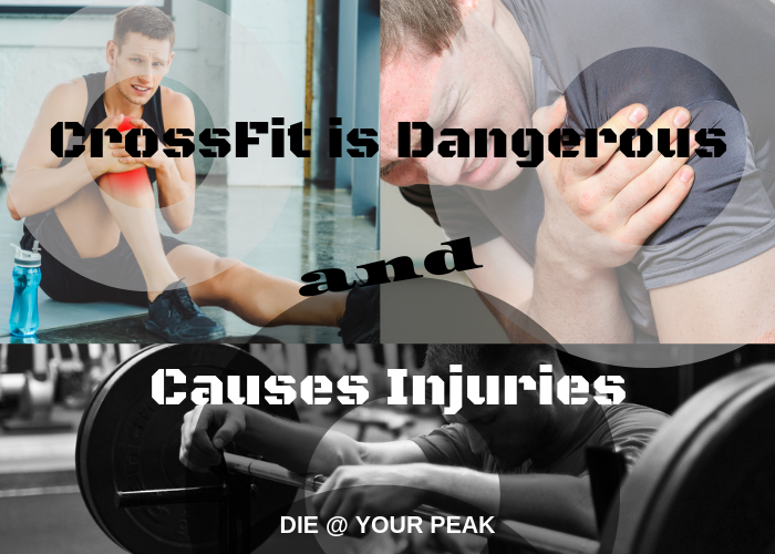 The dangers and injuries caused by doing CrossFit.